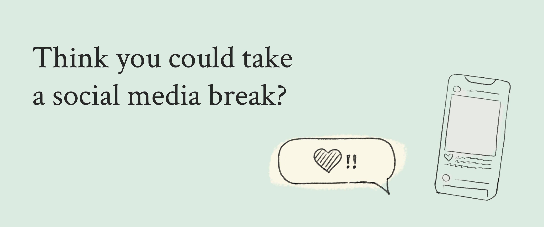 Social media break stress Davines