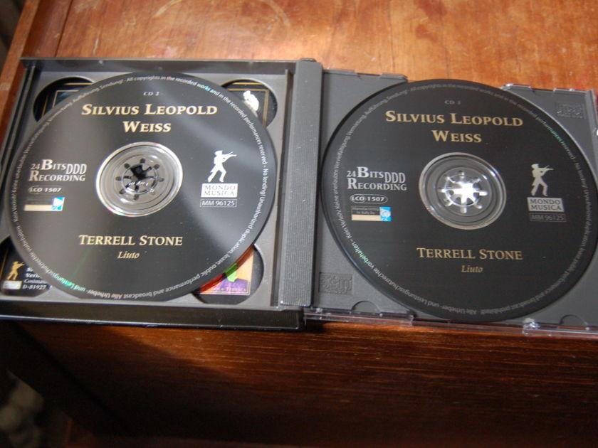 Terrell Stone - Weiss Lute Music 3 CD box