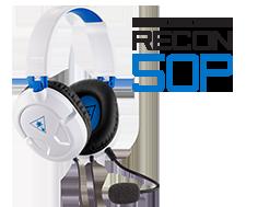 recon 50p white