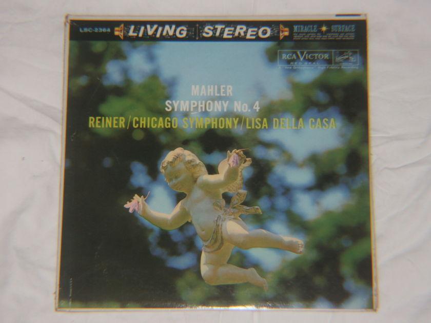 Reiner - Mahler Symphony No. 4 RCA Victor LCS 2364