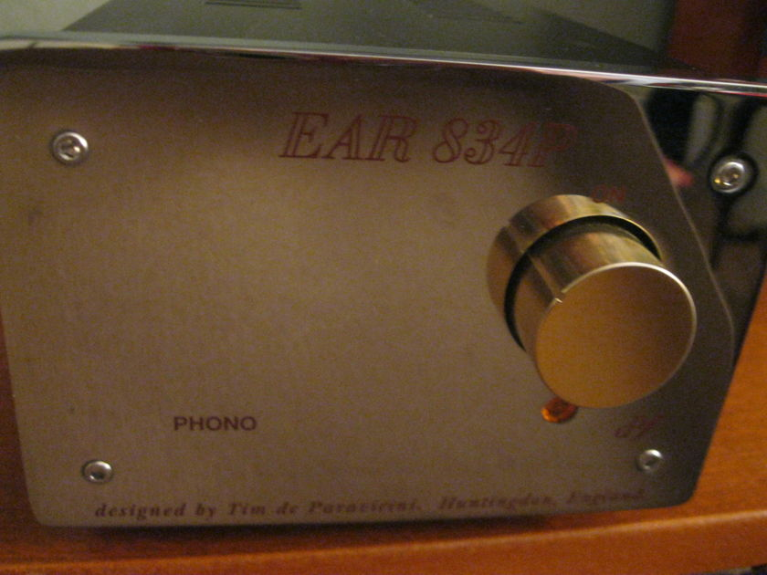 EAR 834P Deluxe Singerman Mod MC phono stage