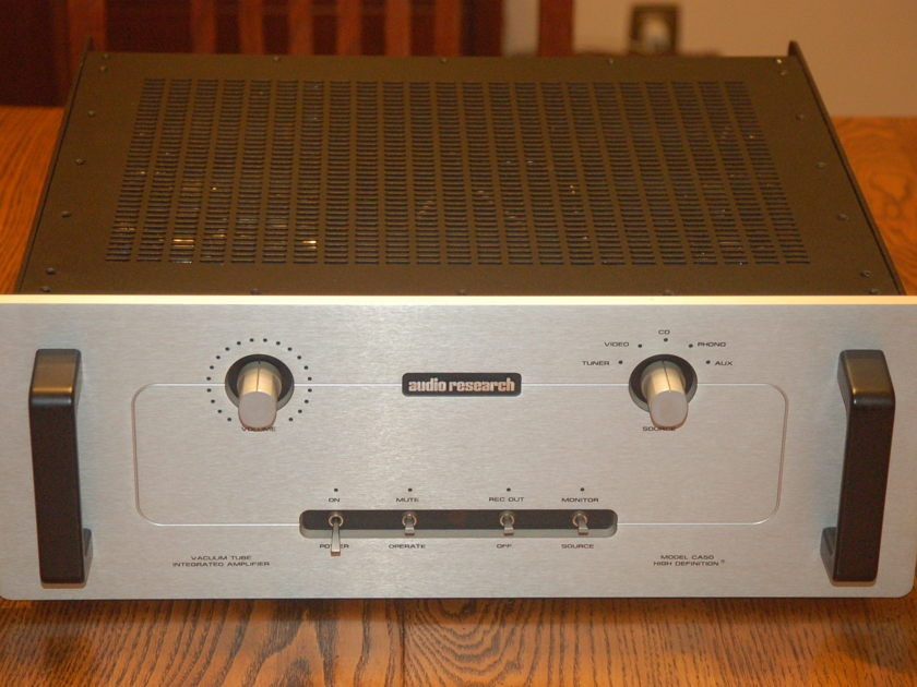 Audio Research CA-50 Silver Integrated Amp with Remote!