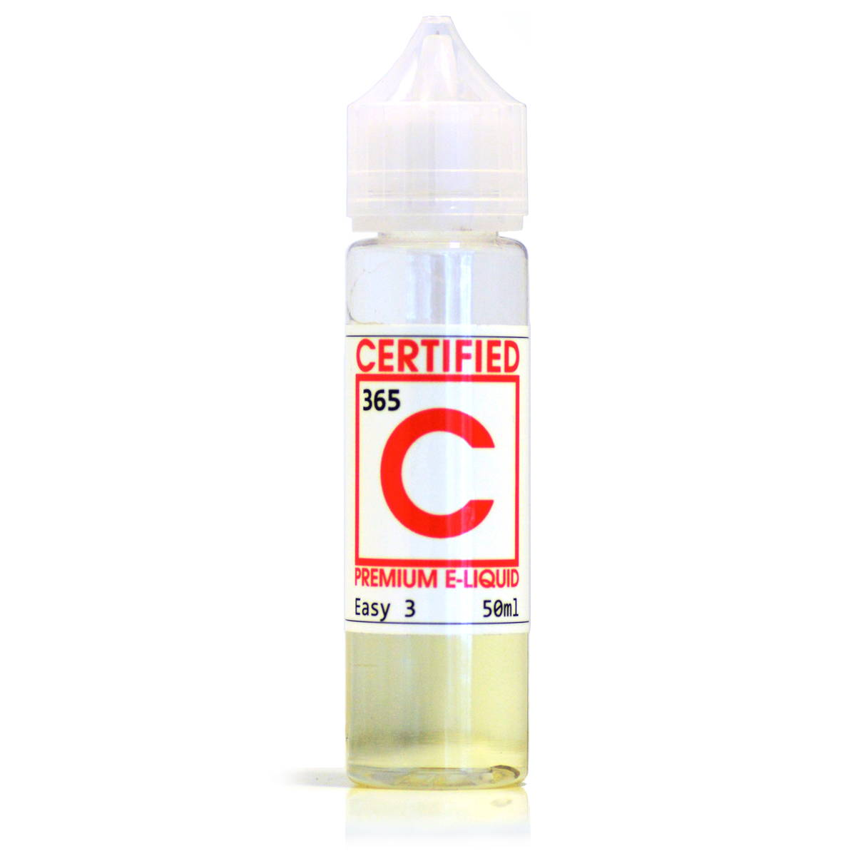 365 vanilla custard E-Liquid by Certified