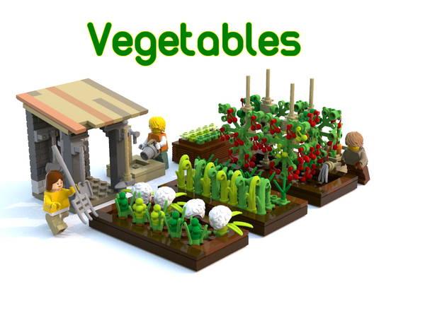 The Climbing Vegetable Garden