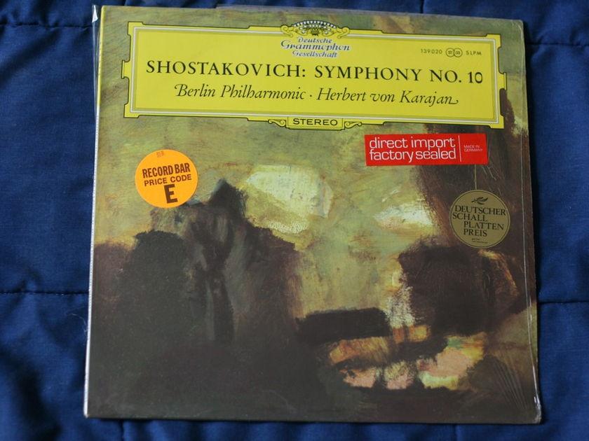 Berlin Philarmonic - Shostakovich Symphony No. 10  139020 SLPM