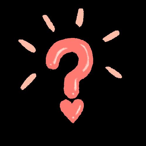 Point d'interrogation / Question
