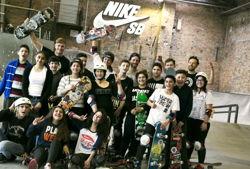 skatehalle berlin community inside