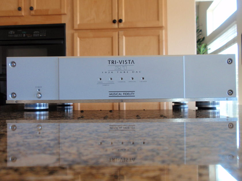 Musical Fidelity Tri-Vista 21 new tubes and Fine tuning mods