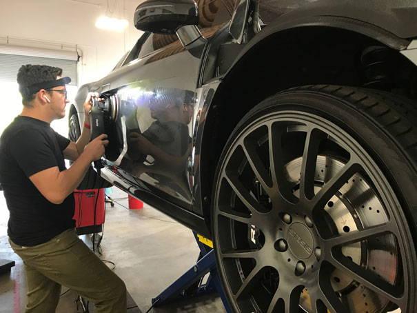 Autoskinz Audi R8 paint correction