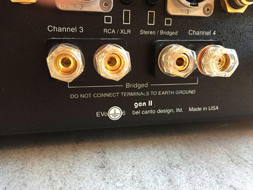 Bel Canto Design Evo 6 gen 2 6-ch power amp