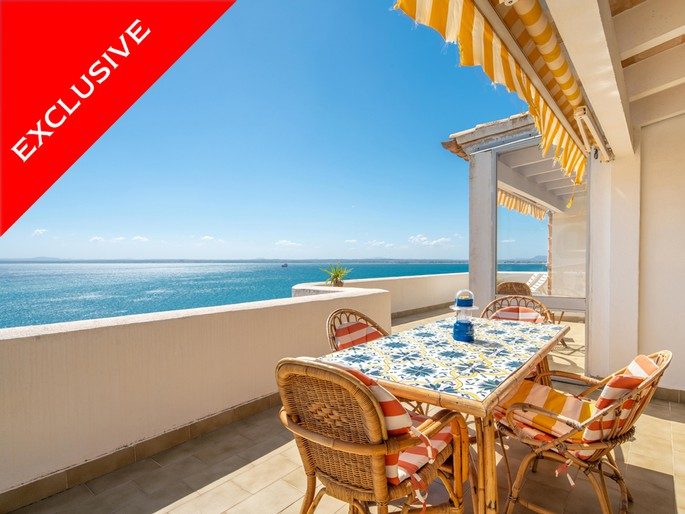 Large apartment with spectacular views in Alcanada