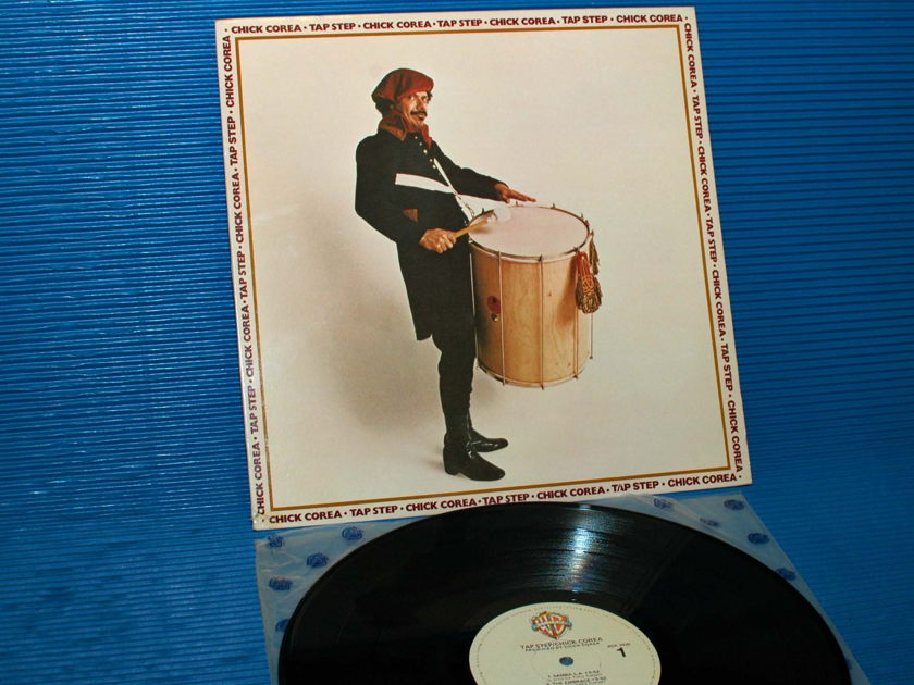 "CHICK COREA   - ""Tap Step"" -  Warner Bros. 1980 1st pressing"