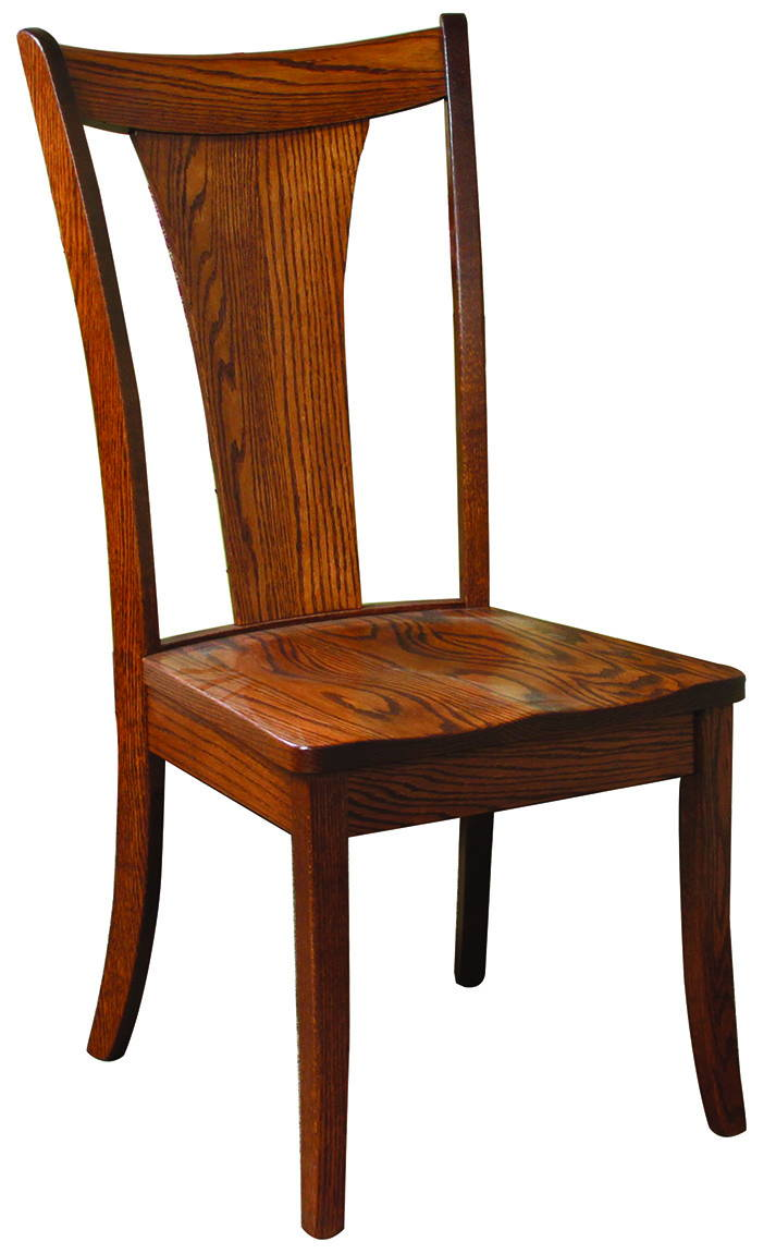 Falcon Solid Wood, Handcrafted Kitchen Chair or DIning Chair from Harvest Home Interiors Amish Furniture