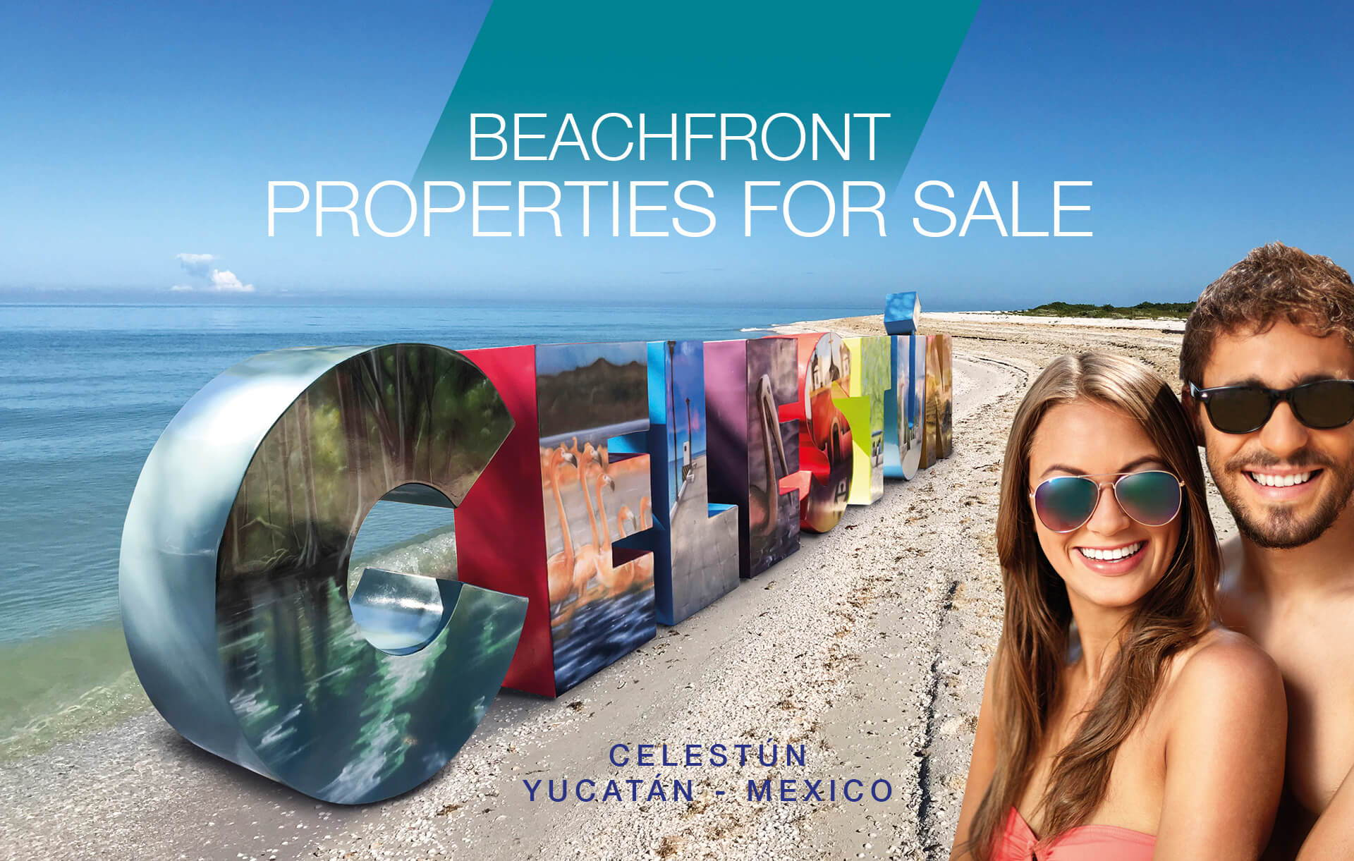 Beach front properties for sale in Celestun Yucatan Mexico