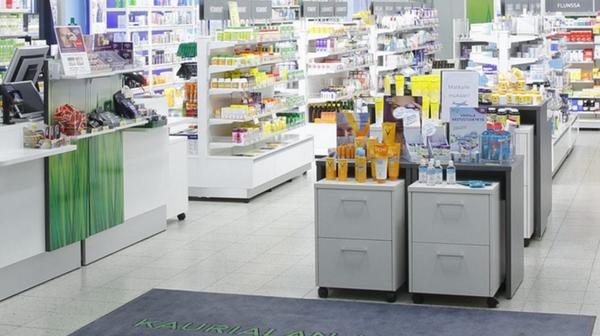 Kaurialan apteekki, Hämeenlinna