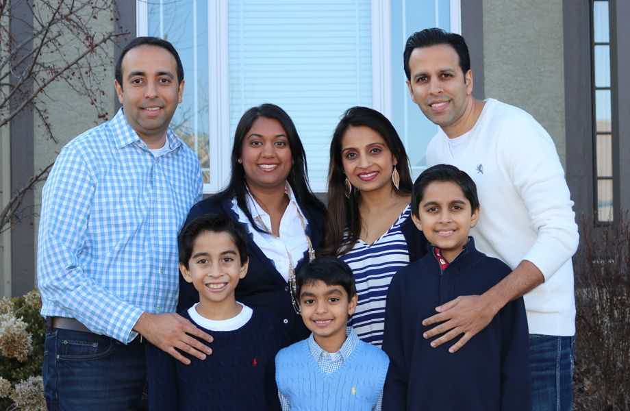 The Sanjanwala family are proud owners of the Primrose School at KU Medical Center