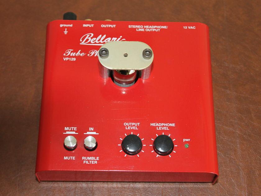 Bellari VP-129 Phono Preamp unused - single tube