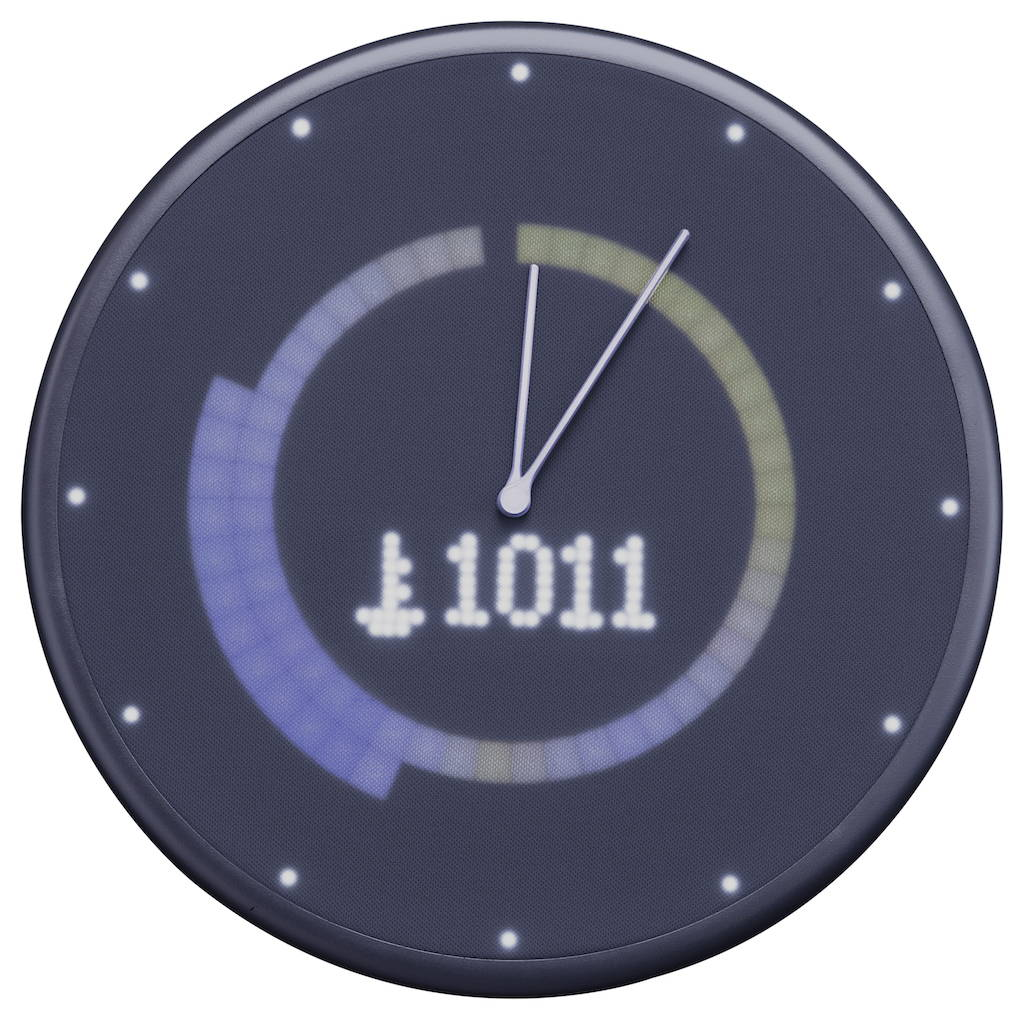 Glance clock Weather Atmospheric Pressure