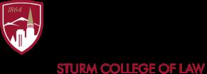Sturm college of law logo
