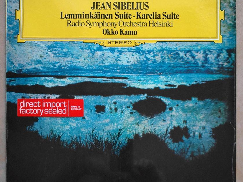 Sealed DG   OKKO KAMU/SIBELIUS - Lemminkainen Suite, Karelia Suite