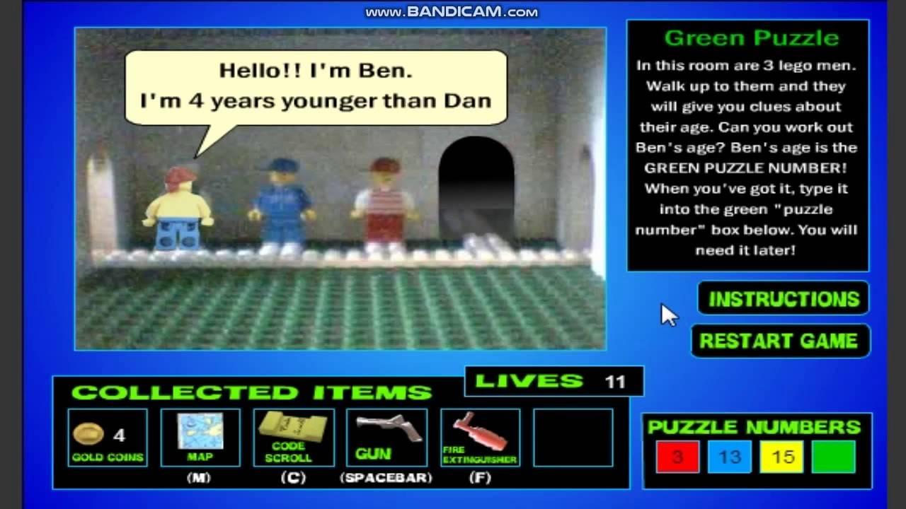 LEGO Games Treasure Hunt