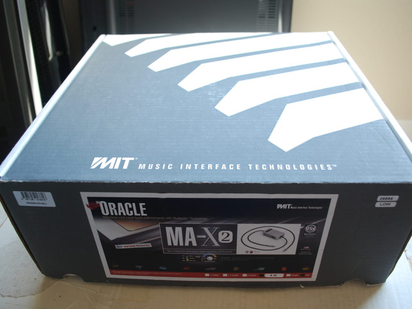 MIT Oracle MA-X2 8m pair RCA Low Impedance
