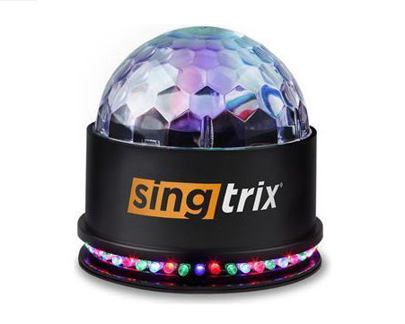 SINGTRIX KARAOKE MACHINE SYSTEM | COMPACT PARTY LIGHT