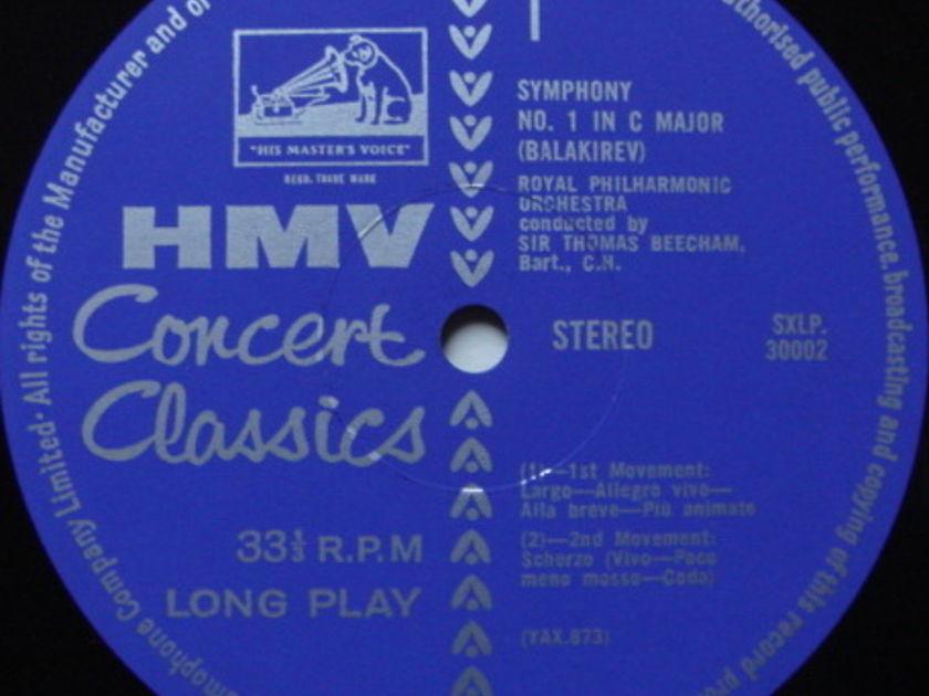 EMI HMV STAMP-DOG / BEECHAM, - Balakirev Symphony No.1, MINT!