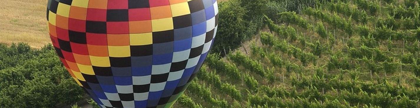 Полёт на воздушном шаре над средневековым замком!