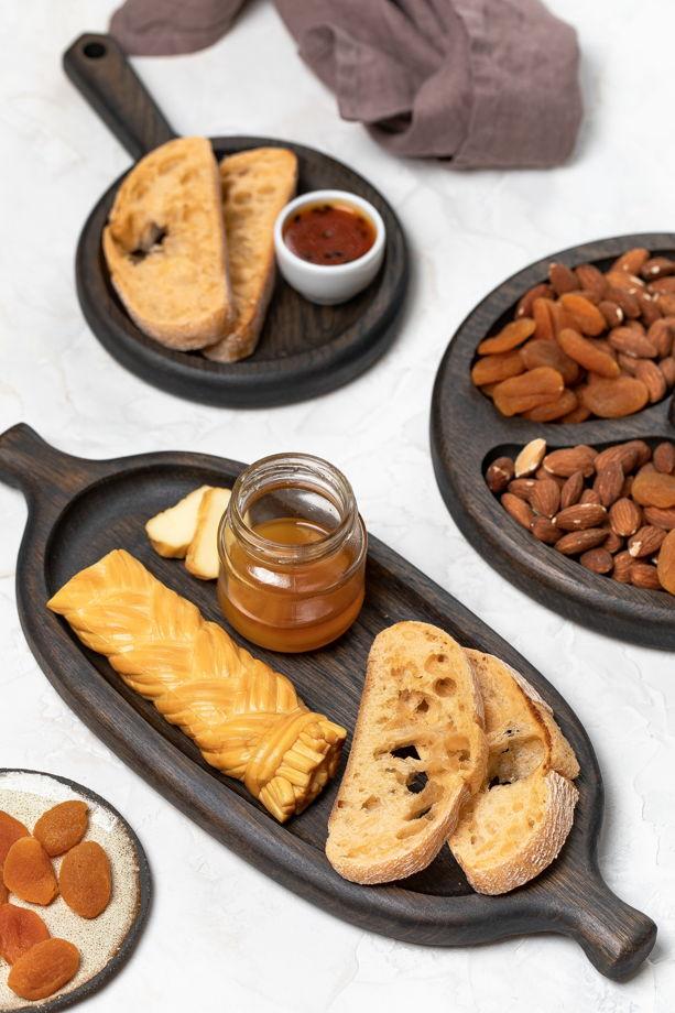"""Тарелочка для хлеба, сыра и небольших закусок """"Веретено"""""""