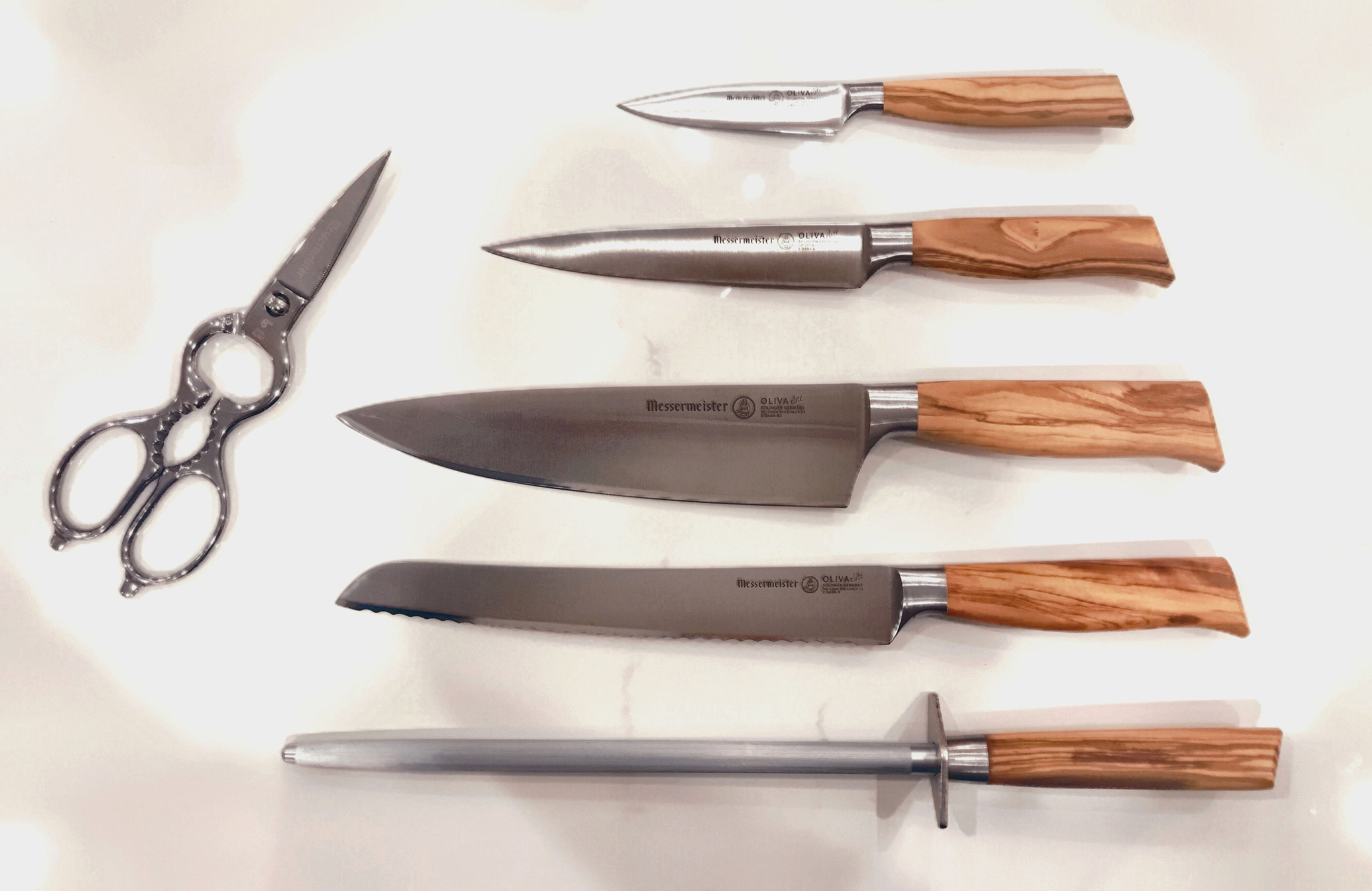 Messermeister Oliva Elite Knife Set with Scissors