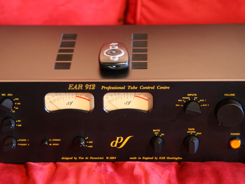 EAR 912 PREAMP Tube Pre w/ phono as new !