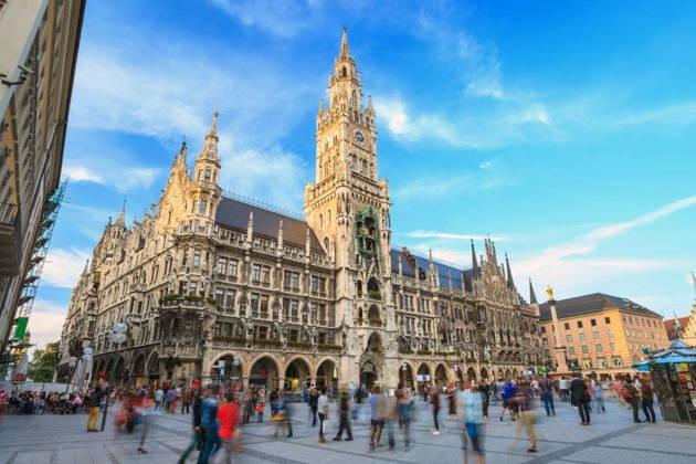 Пешеходная обзорная экскурсия по Мюнхену в 15:15