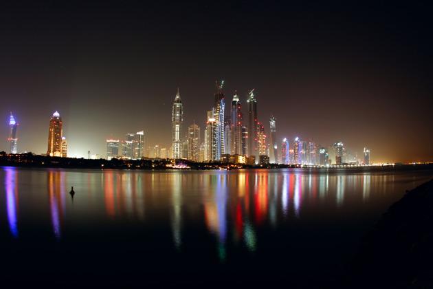 Экскурсия по ночному Дубаю с прогулкой на катере
