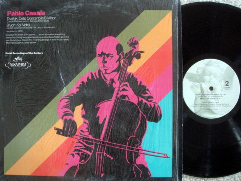EMI Angel Seraphim / CASALS, - Dvorak Cello Conerto, Kol Nidrei, MINT!