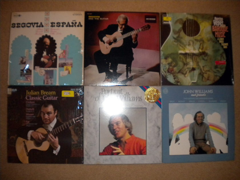 12- Lp Classical Guitar Lot,  - NM-EXC Cond.,  No Reserve