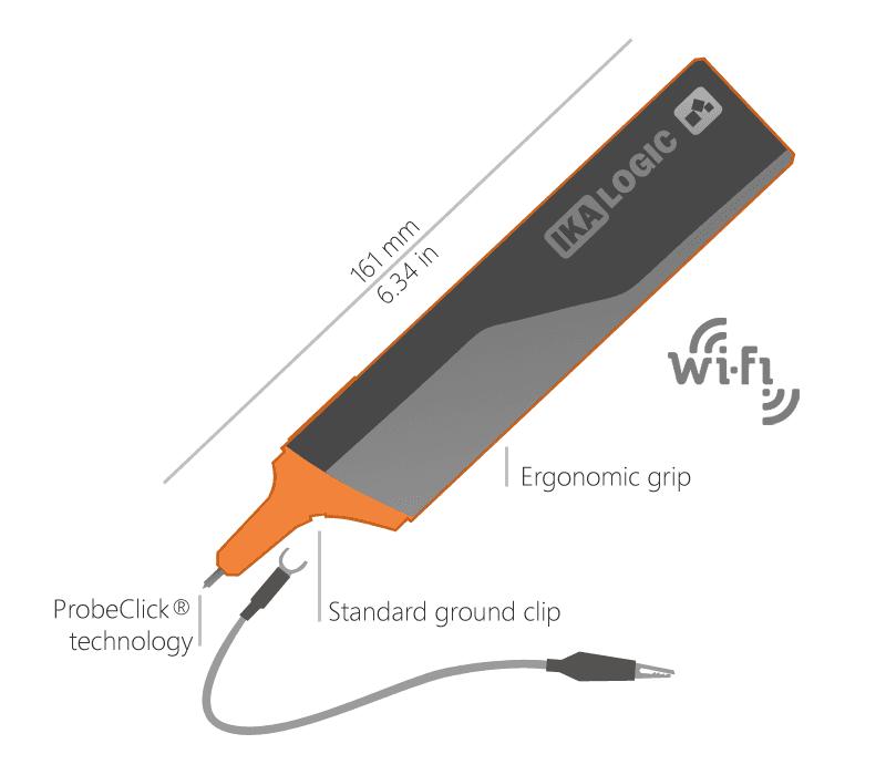 Easy to use oscilloscope