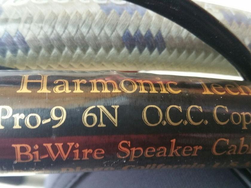 Harmonic Technology pro-9 6n O.C.C.  Bi-Wire Harmonic Technology pro-9 6n O.C.C. Bi-Wire 8FT pair