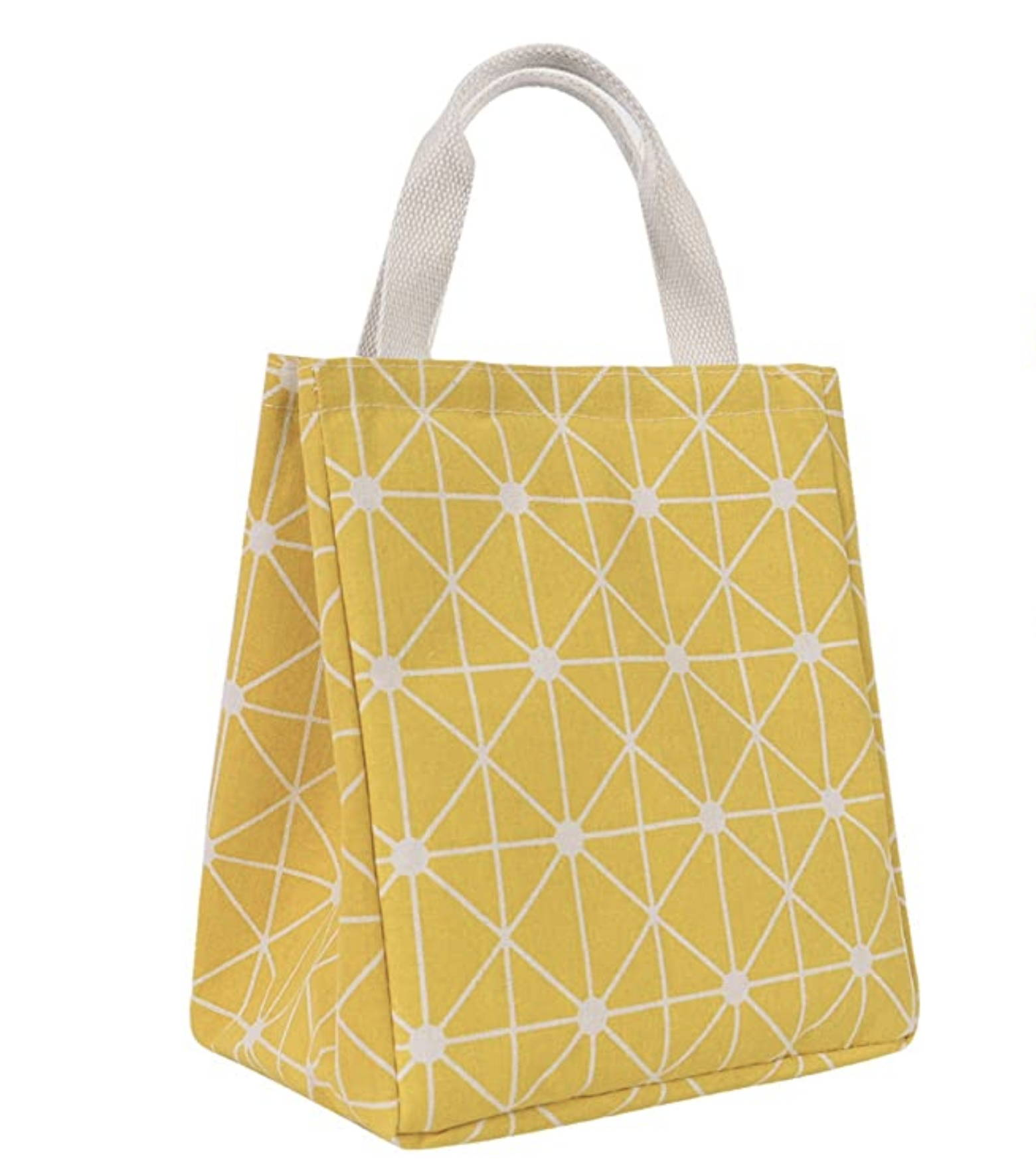 A Yellow tote for transporting expressed breast milk to NICU for preemie baby