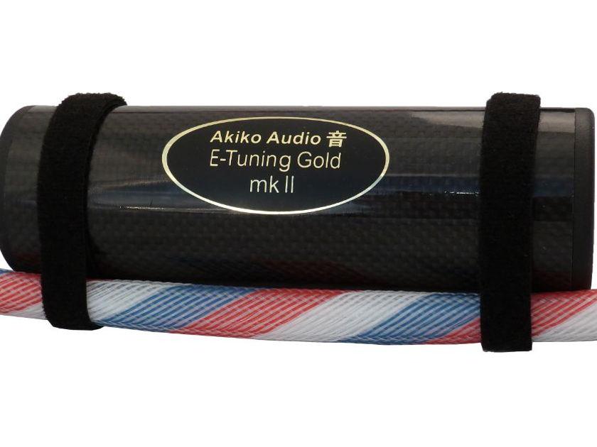 Digital Made Analog --  Read the Reviews! -- Akiko Audio - E-Tuning Gold MkII -- at  JaguarAudioDesign.com (Free Trial and Free Shipping!)
