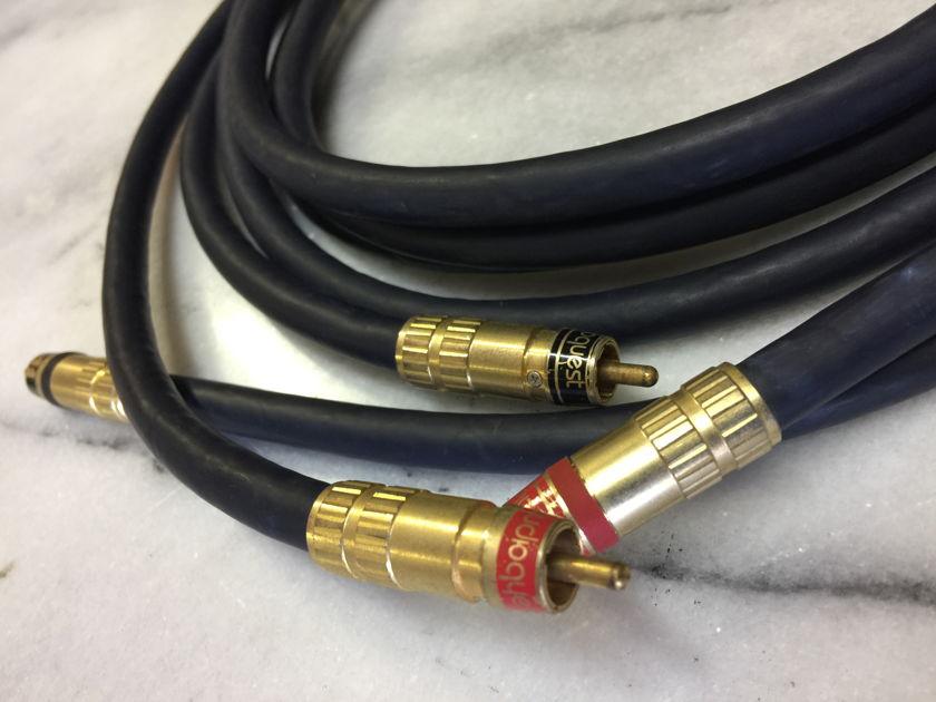 Audioquest Lapis RCA Interconnects - (2) meter pair
