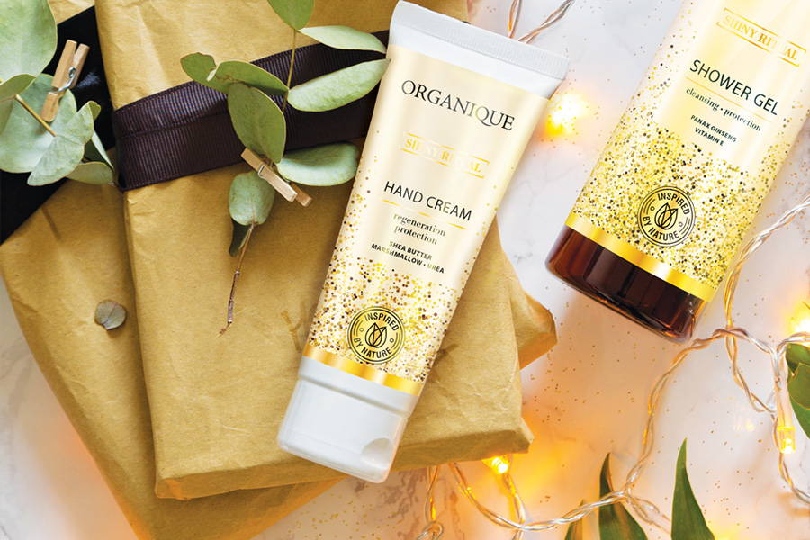 Shiny Ritual Hand Cream 70ml tube from Organique only natural cosmetic products