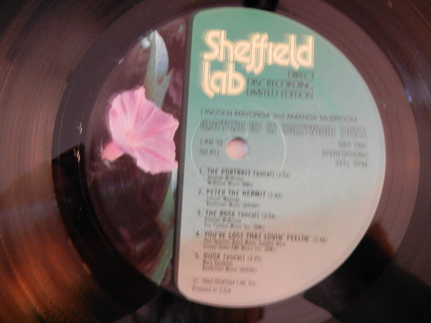Amanda McBroom - Growing up in Hollywood Town Sheffield Lab 13 Direct Disc