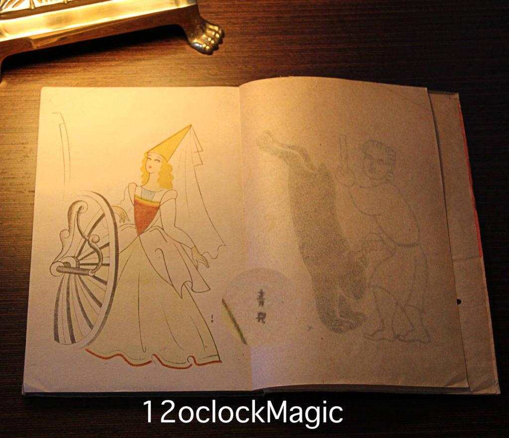 Kiệt tác Monogatari Cinderella Princess Capture Togo Ao Child được yêu cầu minh họa trên bức ảnh này với chữ ký của Togo Ao Child