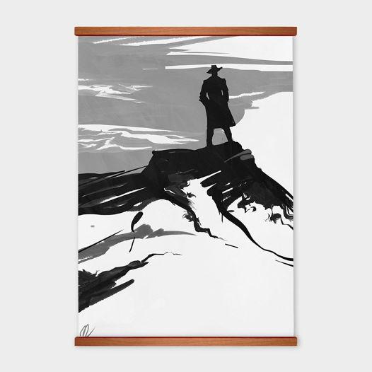 Постер «The Fountainhead» от Oh So Me (серия Home)