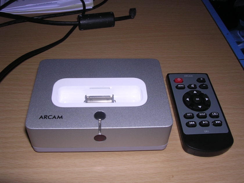 Arcam irDock ipod/iphone doc w/ remote