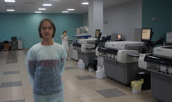 Экскурсия в стерильные комнаты лаборатории «СКАЙЛАБ»
