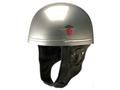 Davida Classic Silver Skate and Bike Safety Helmet