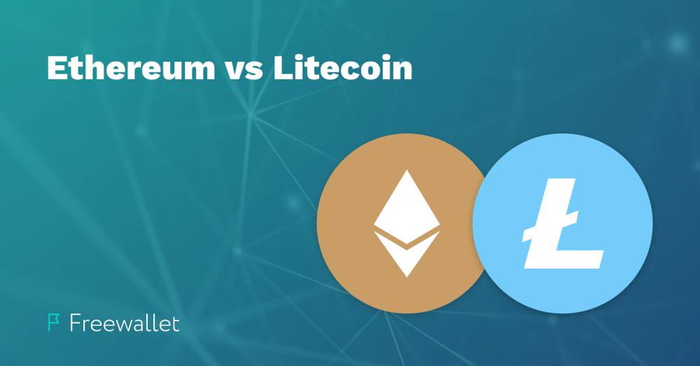 Litecoin vs Ethereum comparison