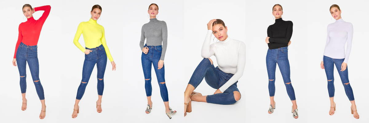 turtleneck and pants 1